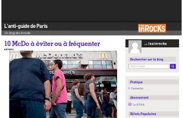http://blogs.lesinrocks.com/antiguideparis/2011/07/06/10-mcdo-a-eviter-ou-a-frequenter/