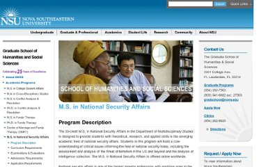 http://shss.nova.edu/programs/nsa/index.html