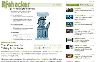 http://lifehacker.com/5818751/your-cheatsheet-for-talking-to-the-police