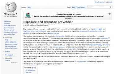 http://en.wikipedia.org/wiki/Exposure_and_response_prevention