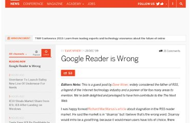 http://thenextweb.com/2009/12/21/google-reader-wrong/
