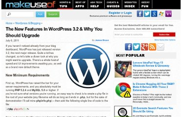 http://www.makeuseof.com/tag/features-wordpress-32-upgrade/