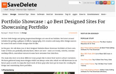http://savedelete.com/portfolio-showcase-40-best-designed-sites-for-showcasing-portfolio.html