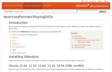 https://help.ubuntu.com/community/RestrictedFormats/PlayingDVDs