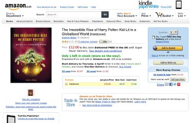 http://www.amazon.co.uk/Irresistible-Rise-Harry-Potter-Globalised/dp/1859846661