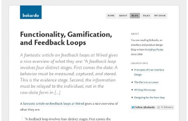 http://bokardo.com/archives/gamification-feedback-loops/