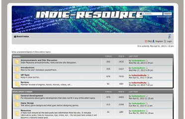 http://indie-resource.com/forums/index.php