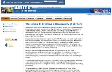 http://www.learner.org/workshops/middlewriting/prog1.html