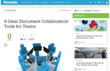 http://mashable.com/2009/12/20/document-collaboration/