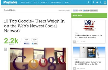 http://mashable.com/2011/07/07/top-google-plus-users/