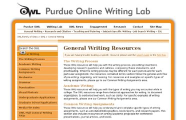 http://owl.english.purdue.edu/owl/section/1/
