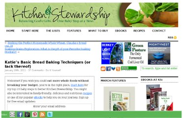 http://www.kitchenstewardship.com/2011/01/19/katies-basic-bread-baking-techniques-or-lack-thereof/