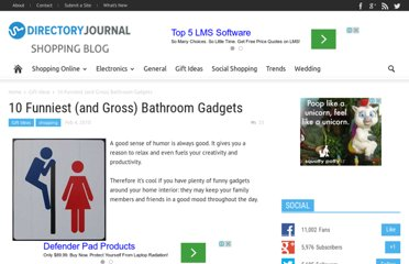 http://www.dirjournal.com/shopping-journal/10-funniest-and-gross-bathroom-gadgets/