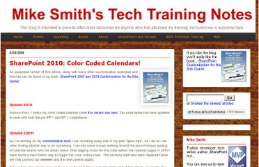 http://techtrainingnotes.blogspot.com/2010/06/sharepoint-2010-color-coded-calendars.html