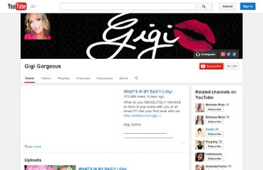 http://www.youtube.com/user/GregoryGORGEOUS