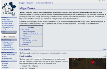 http://wiki.teamliquid.net/starcraft/Magic_Boxes
