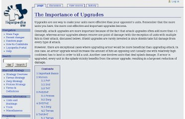 http://wiki.teamliquid.net/starcraft/The_Importance_of_Upgrades