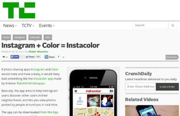 http://techcrunch.com/2011/07/08/instagram-color-instacolor/