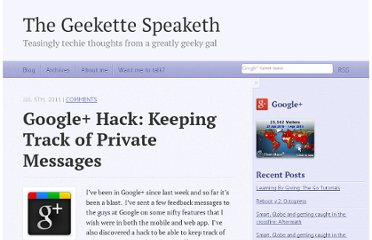 http://www.thegeekettespeaketh.com/2011/07/google-hack-keeping-track-of-private-messages/