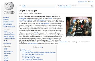 http://en.wikipedia.org/wiki/Sign_language