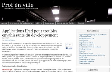 http://www.profenville.com/2011/07/applications-ipad-pour-troubles-envahissants-du-developpement/