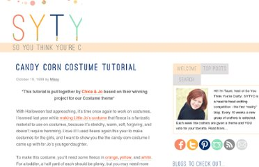 http://www.soyouthinkyourecrafty.com/1999/10/candy-corn-costume-tutorial/