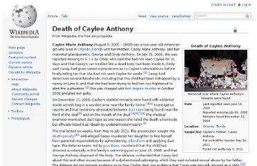 http://en.wikipedia.org/wiki/Death_of_Caylee_Anthony
