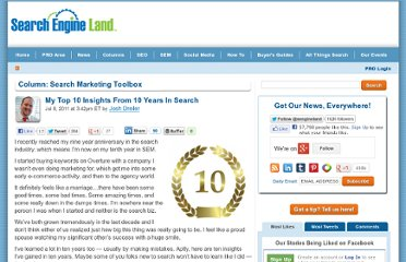 http://searchengineland.com/my-top-10-insights-from-10-years-in-search-84046