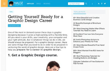 http://naldzgraphics.net/tips/getting-yourself-ready-for-a-graphic-design-career/