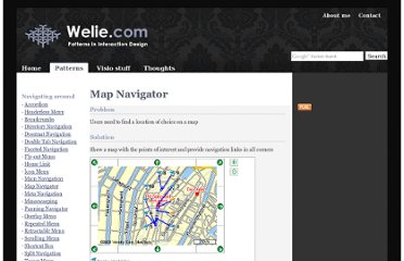 http://www.welie.com/patterns/showPattern.php?patternID=map-navigator