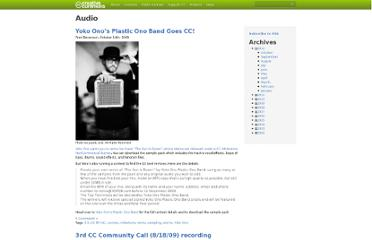 http://creativecommons.org/audio