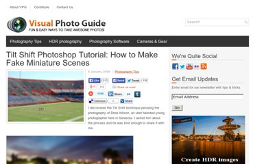 http://visualphotoguide.com/tilt-shift-photoshop-tutorial-how-to-make-fake-miniature-scenes/