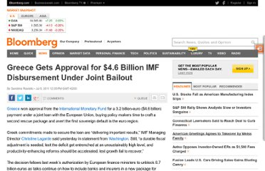 http://www.bloomberg.com/news/2011-07-09/greece-gets-approval-for-4-6-billion-imf-disbursement-under-joint-bailout.html