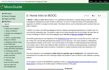 http://moocguide.wikispaces.com/0.+Home+Intro+to+MOOC