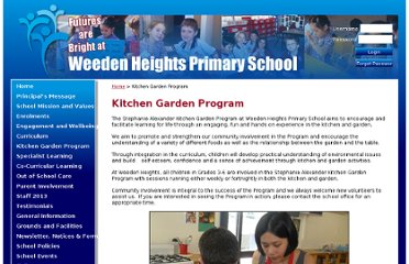 http://www.weedenheightsps.vic.edu.au/Stephanie-Alexander-Kitchen-Garden-Program.aspx