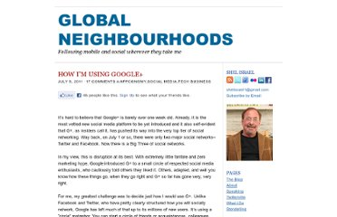 http://globalneighbourhoods.net/2011/07/how-im-using-google.html