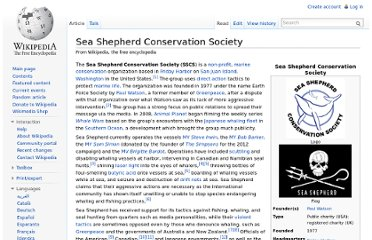http://en.wikipedia.org/wiki/Sea_Shepherd_Conservation_Society