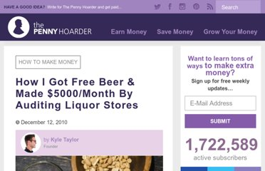 http://www.thepennyhoarder.com/2010/12/i-get-paid-to-buy-beer