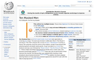 http://en.wikipedia.org/wiki/Ten_Masked_Men