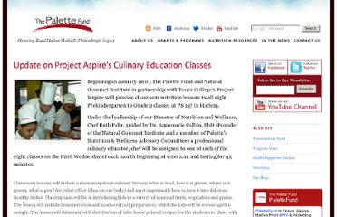http://www.thepalettefund.org/blog/more/update_on_project_aspires_culinary_education_classes/