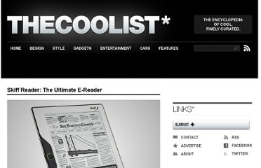 http://www.thecoolist.com/skiff-reader-the-ultimate-e-reader/