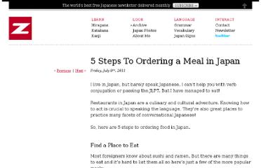 http://www.zonjineko.com/3570-5-steps-to-ordering-a-meal-in-japan/