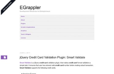 http://www.egrappler.com/jquery-credit-card-validation-plugin-smart-validate/