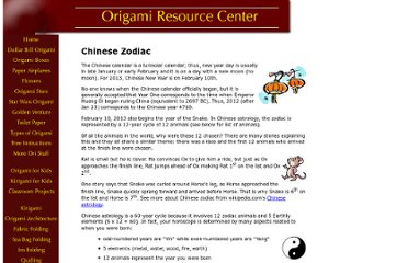 http://www.origami-resource-center.com/chinese-zodiac.html