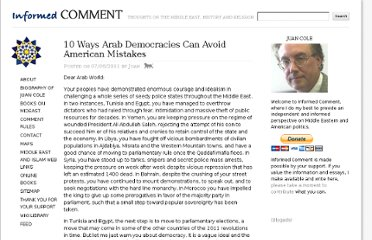 http://www.juancole.com/2011/07/10-ways-arab-democracies-can-avoid-american-mistakes.html