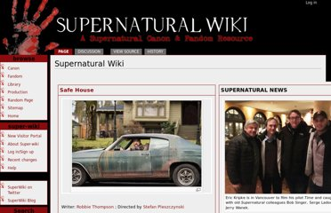 http://www.supernaturalwiki.com/index.php?title=Supernatural_Wiki