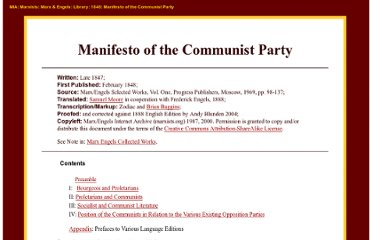 http://www.marxists.org/archive/marx/works/1848/communist-manifesto/index.htm