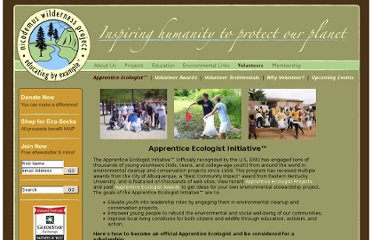http://www.wildernessproject.org/volunteer_apprentice_ecologist
