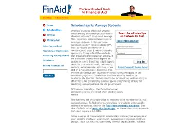 http://www.finaid.org/scholarships/average.phtml