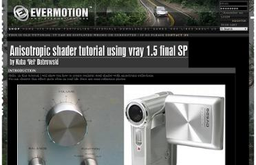 http://www.evermotion.org/tutorials/show/7875/anisotropic-shader-tutorial-using-vray-1-5-final-sp-1